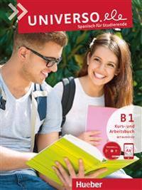Universo.ele B1. Kursbuch + Arbeitsbuch + Audio CD