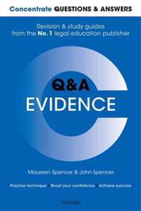 Concentrate questions and answers evidence - law q&a revision and study gui