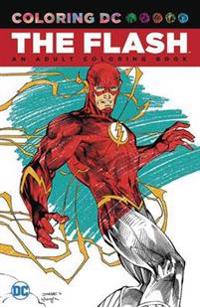 The Flash Adult Coloring Book