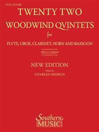 22 Woodwind Quintets - New Edition: Woodwind Quintet