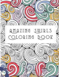 Amazing Swirls Coloring Book