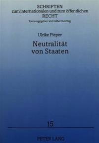 Neutralitaet Von Staaten