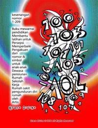 Kesenangan Nomor 1-209 Buku Mewarnai Pendidikan Membantu Latihan Untuk Persepsi Memperbaiki Pengakuan Dari Nomor & Simbol Untuk Anak-Anak Dewasa Pensi