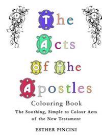 The Acts of the Apostles Colouring Book