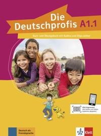 Die Deutschprofis A1.1. Kurs- und Übungsbuch mit Audios und Clips online