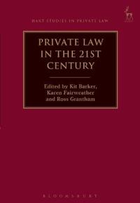 Private Law in the 21st Century