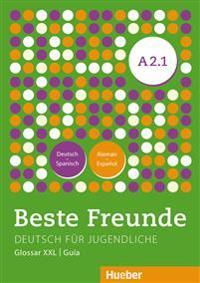 Beste Freunde A2/1. Glosario XXL Deutsch-Spanisch Alemán-Español