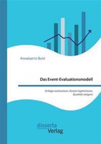 Das Event-Evaluationsmodell. Erfolge Nachweisen, Kosten Legitimieren, Qualitat Steigern