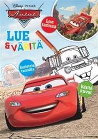 AUTOT LUE & VÄRITÄ TARRAVÄRITYSKIRJA