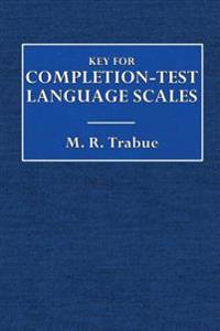 Key for Completion-Test Language Scales