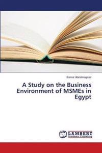 A Study on the Business Environment of MSMEs in Egypt