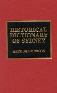Historical Dictionary of Sydney