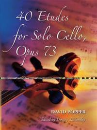 40 Etudes for Solo Cello, Op. 73