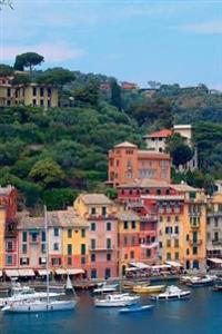 Beautiful Italy Portofino City Scenes 2-2, 150 Page Lined Journal: 150 Page Lined Journal