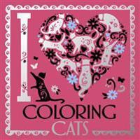 I Heart Coloring Cats