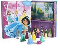 Disney Prinsessor (sagobok, figurer, lekmatta)