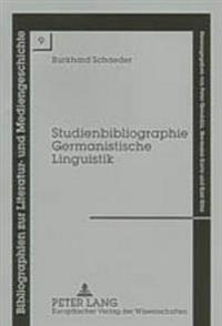 Studienbibliographie Germanistische Linguistik