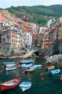 Beautiful Italy Cinque Terre City Scenes 1-4, 150 Page Lined Journal: 150 Page Lined Journal