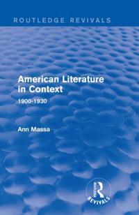 American Literature in Context