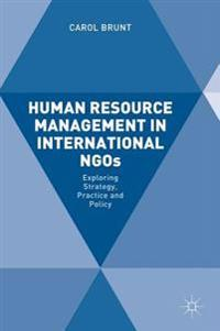 Human Resource Management in International NGOs