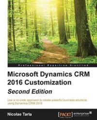 Microsoft Dynamics CRM 2016 Customization