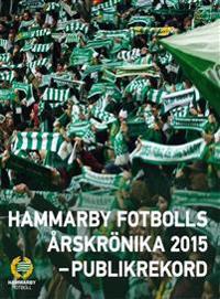 Hammarby Fotbolls Årskrönika 2015 : publiktriumfen
