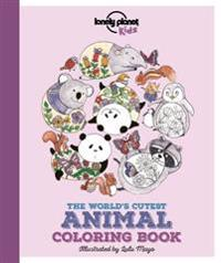 The World's Cutest Animal Coloring Book