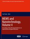 MEMS and Nanotechnology, Volume 4