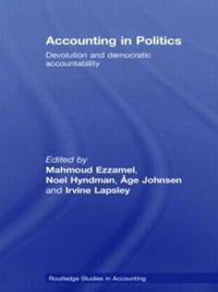 Accounting in Politics