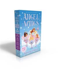 Angel Wings Sparkling Collection Books 1-4: New Friends; Birthday Surprise; Secrets and Sapphires; Rainbows and Halos