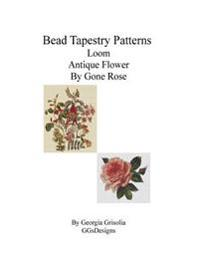 Bead Tapestry Patterns Loom Antique Flower by Gone Rose