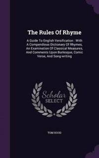 The Rules of Rhyme