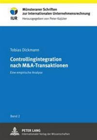 Controllingintegration Nach M&a-Transaktionen