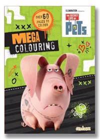 Secret Life of Pets Mega Colouring Book