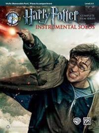 Harry Potter Instrumental Solos for Strings: Violin, Book & CD
