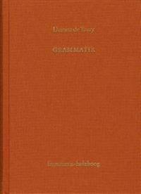 Antoine Louis Claude Destutt de Tracy, Grammatik