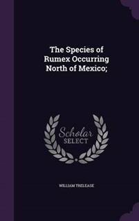The Species of Rumex Occurring North of Mexico;