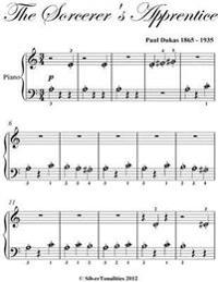 Sorcerer's Apprentice Beginner Piano Sheet Music