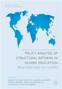 Policy Analysis of Structural Reforms in Higher Education