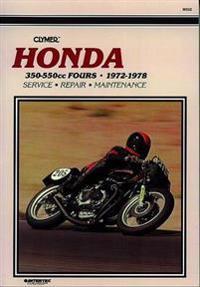 Honda Cb350-550Cc Sohc Fours, 1971-1978