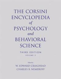 The Corsini Encyclopedia of Psychology and Behavioral Science, 3rd Edition,