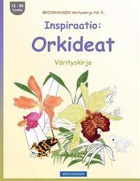 Brockhausen Varityskirja Vol. 5 - Inspiraatio: Orkideat: Varityskirja