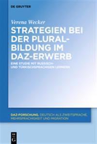 Strategien Bei Der Pluralbildung Im Daz-Erwerb