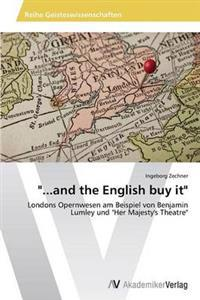 ...and the English Buy It