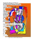 Inspired by Braque & Picasso for Japanese Language Speakers Learn Analytic Cubism Art Style Coloring Book Original Handmade Drawings Made by Artist Gr