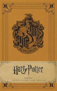 Harry Potter - Hufflepuff Hardcover Ruled Journal