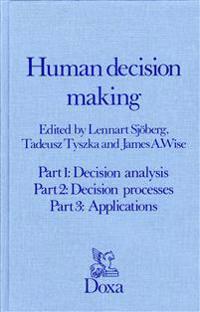 Human decision making