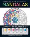 Stress Less Paint-By-Number Mandalas