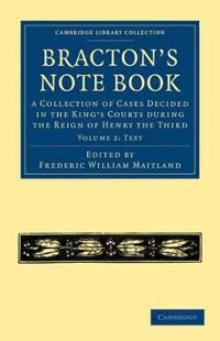 Bracton's Note Book