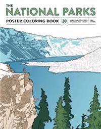 The National Parks Poster Coloring Book